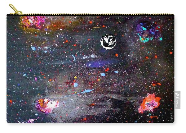 Carry-all Pouch featuring the painting The Perfect Storm by Michael Lucarelli
