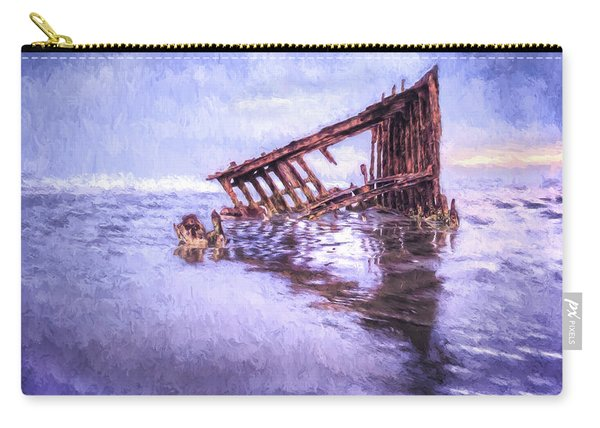 A Stormy Peter Iredale Carry-all Pouch