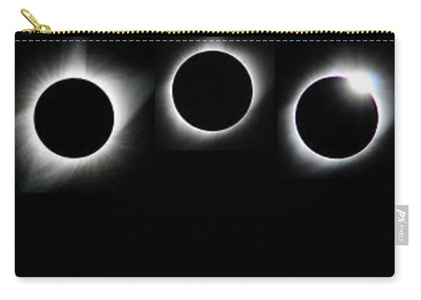 The Phases Of An Eclipse - Curved Carry-all Pouch