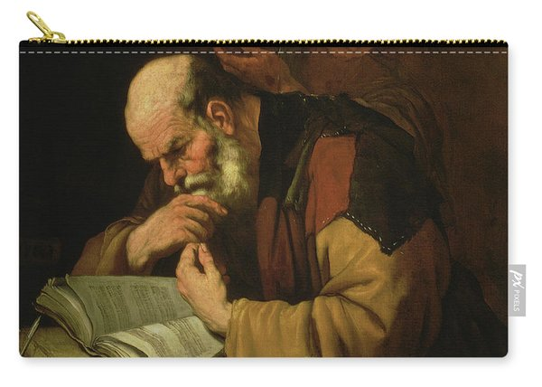 The Philosopher By Jusepe De Ribera Carry-all Pouch