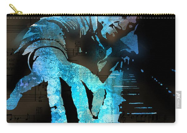 The Piano Man Carry-all Pouch