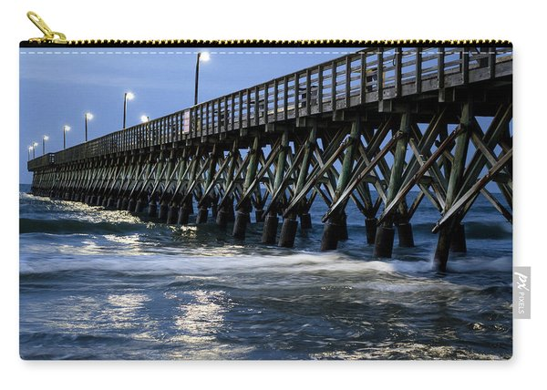 The Pier At The Break Of Dawn Carry-all Pouch