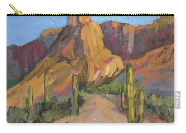 The Pinnacle At Goldfield Mountains Carry-all Pouch