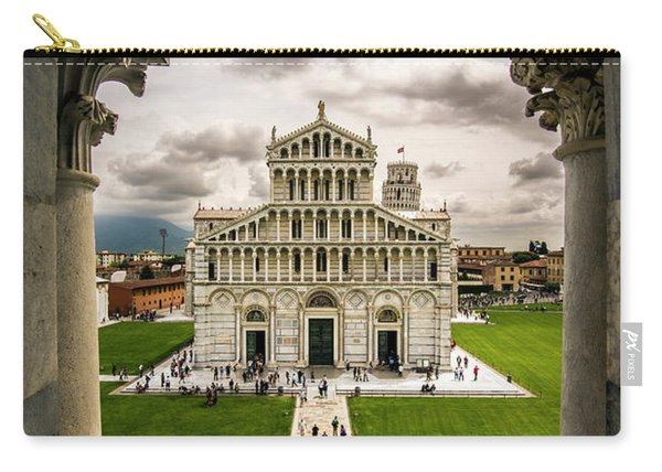 The Pisa Cathedral From The Bapistry Carry-all Pouch