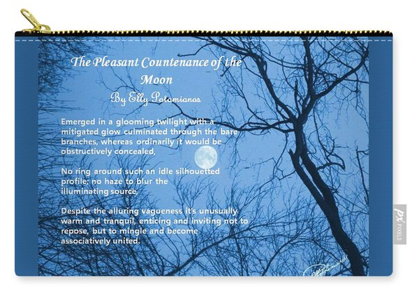 The Pleasant Countenance Of The Moon Carry-all Pouch