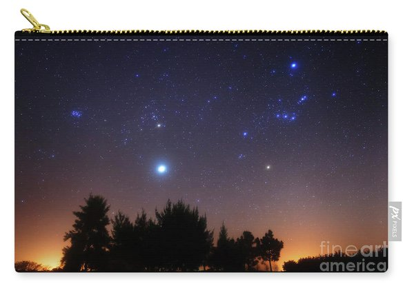 The Pleiades, Taurus And Orion Carry-all Pouch