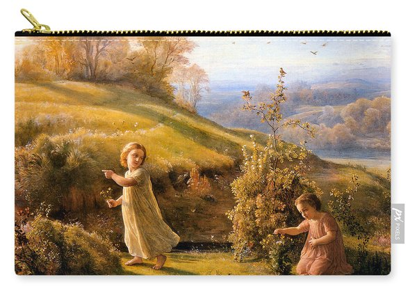 The Poem Of The Soul Spring Anne Francois Louis Janmot 1854. Carry-all Pouch