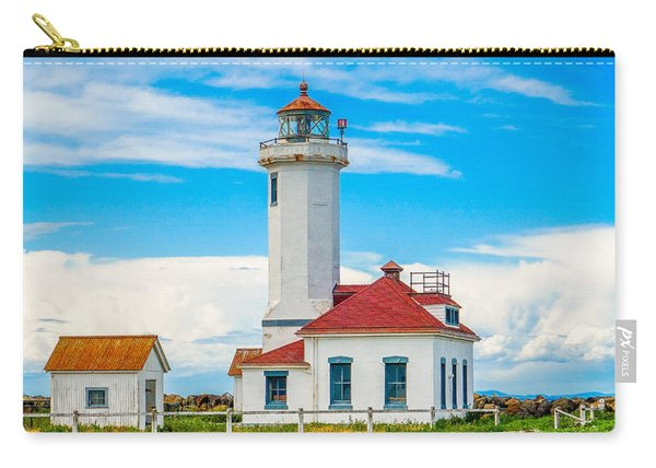 The Point Wilson Lighthouse Carry-all Pouch