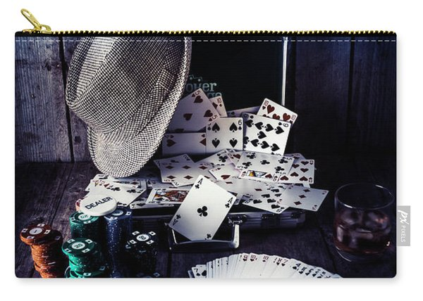 The Poker Ace Carry-all Pouch