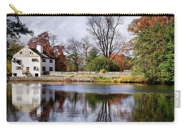 The Pond And The Manor House Carry-all Pouch