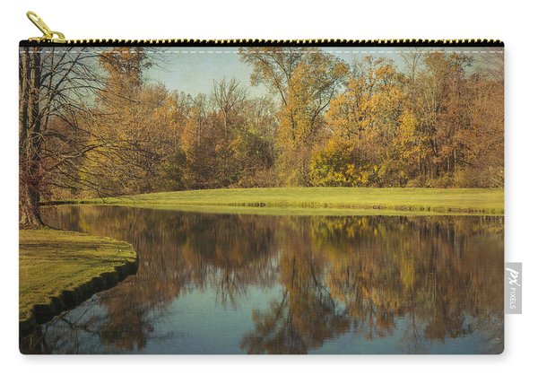 Carry-all Pouch featuring the photograph The Pond by Michael Colgate