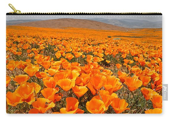 The Poppy Fields - Antelope Valley Carry-all Pouch