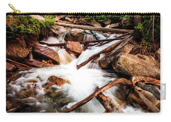 The Power Of Nature - Little Cottonwood Creek Carry-all Pouch