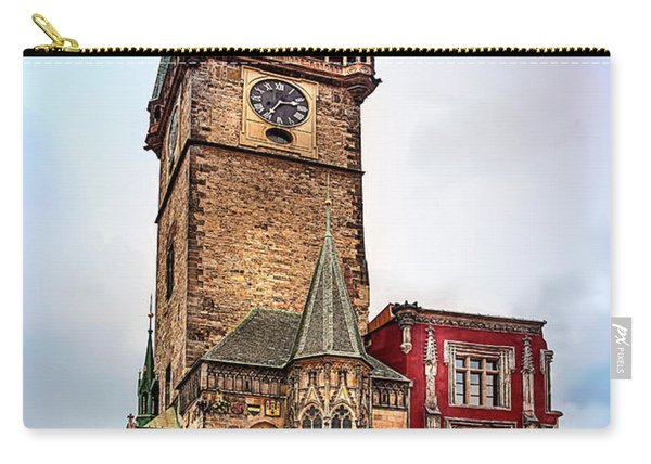 The Prague Clock Tower Carry-all Pouch