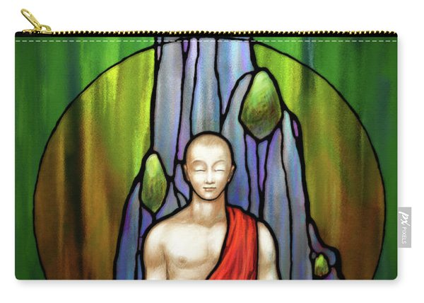 The Praying Monk Carry-all Pouch