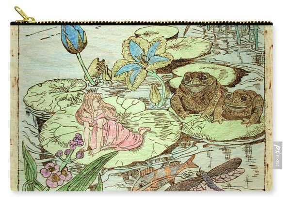 The Princess And The Frogs Carry-all Pouch
