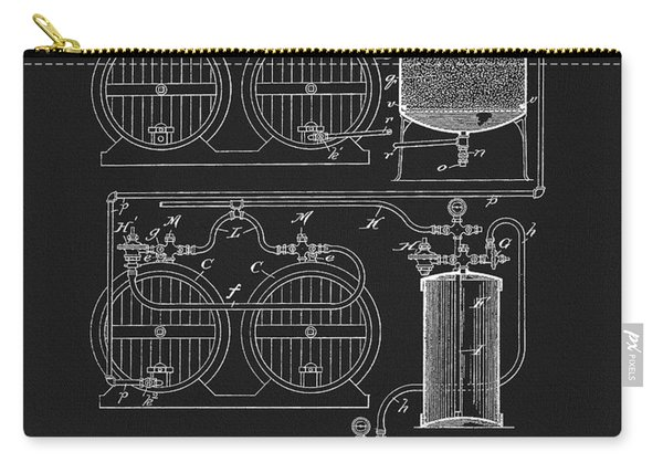The Process Of Making Beer 1893 Carry-all Pouch