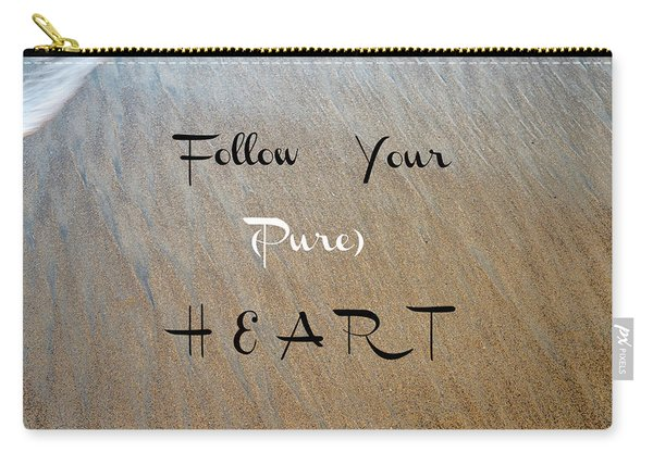 The Pure Heart Carry-all Pouch