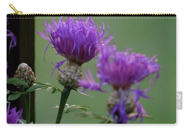 The Purple Bloom Carry-all Pouch