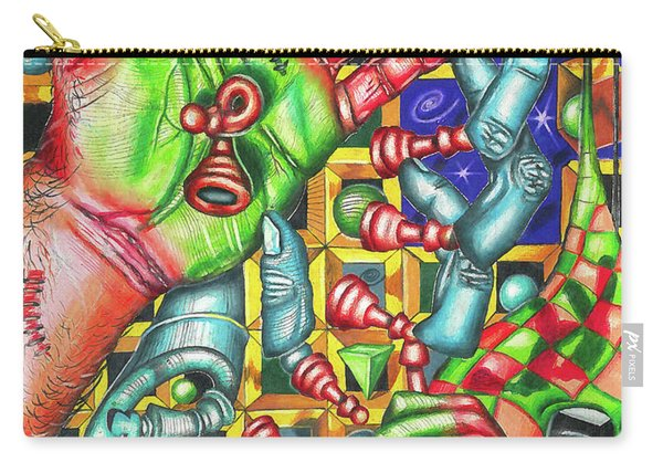 The Quantum Mechanics Of Chess And Life Carry-all Pouch