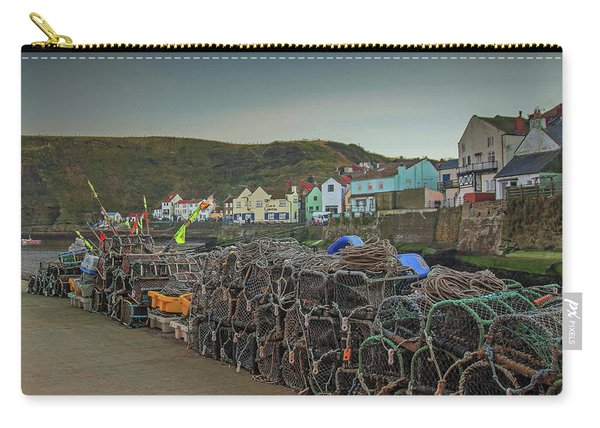 The Quay At Staithes Carry-all Pouch