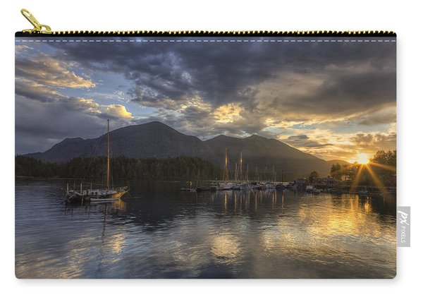 The Quiet Sunrise - Tofino Bc Carry-all Pouch