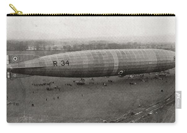 The R34 Rigid Airship. The First Carry-all Pouch