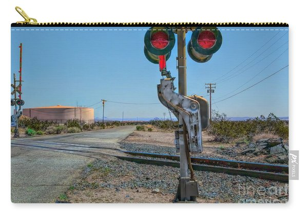 The Railway Crossing Carry-all Pouch