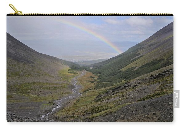 The Rainbow On The Valley Carry-all Pouch