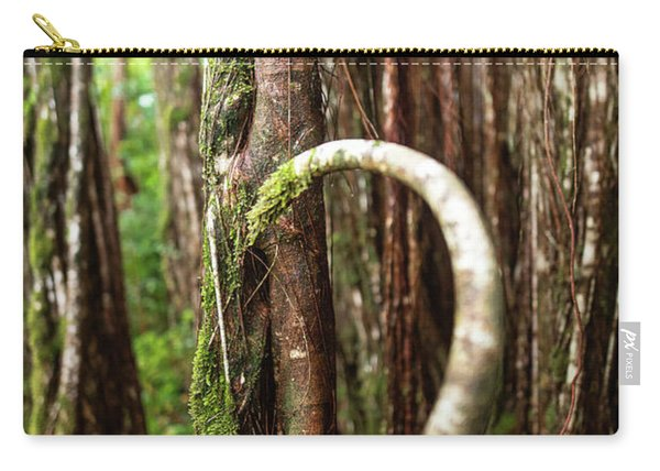 Carry-all Pouch featuring the photograph The Rainforest by Break The Silhouette