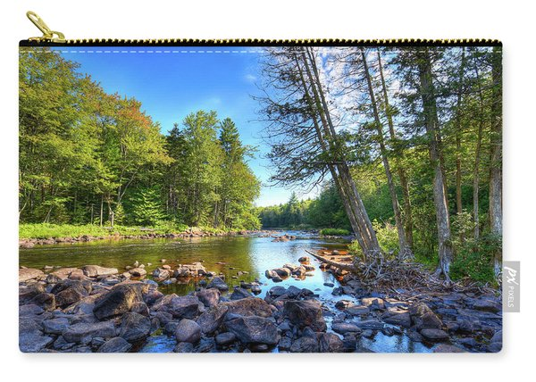 The Raquette River Carry-all Pouch