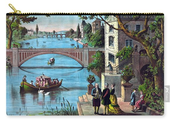 The Reception Of Benjamin Franklin In France Carry-all Pouch