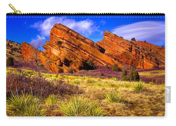 The Red Rock Park Vi Carry-all Pouch