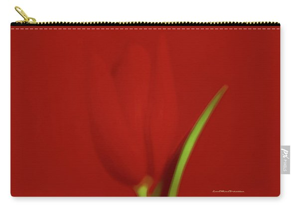 The Red Tulip Art Photograph 2 Carry-all Pouch