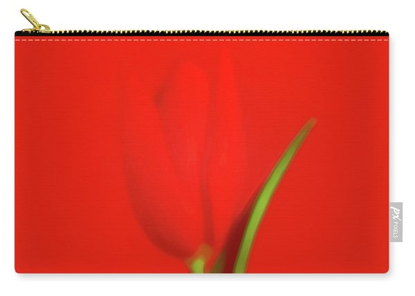 The Red Tulip Art Photograph Carry-all Pouch