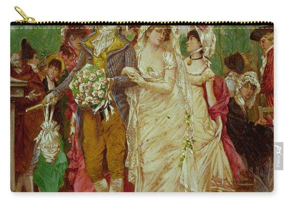 The Revolutionist's Bride, Paris, 1799 Carry-all Pouch