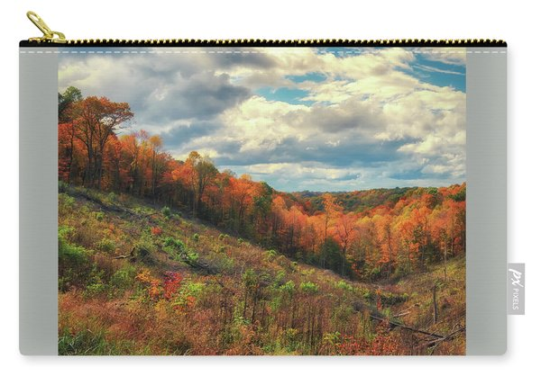 The Ridges Of Southern Ohio In Fall Carry-all Pouch