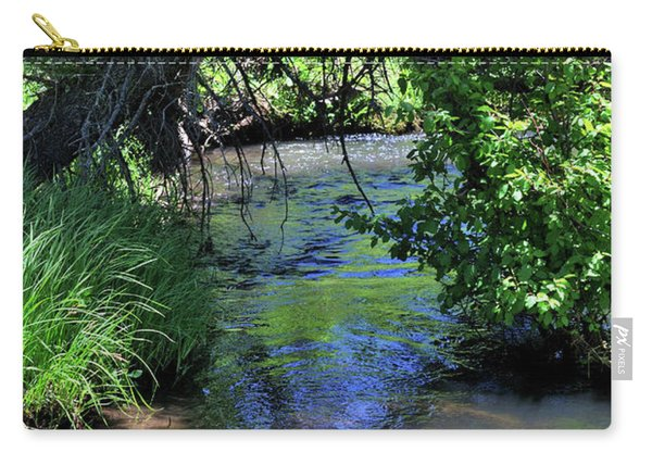 Carry-all Pouch featuring the photograph The Rio Chiquito by Ron Cline