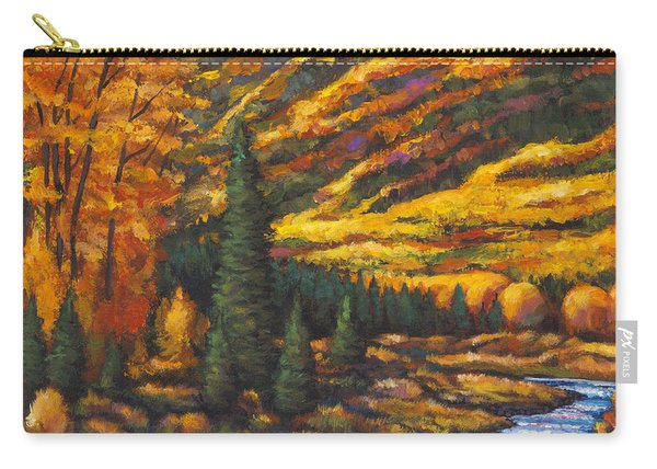 The River Runs Carry-all Pouch
