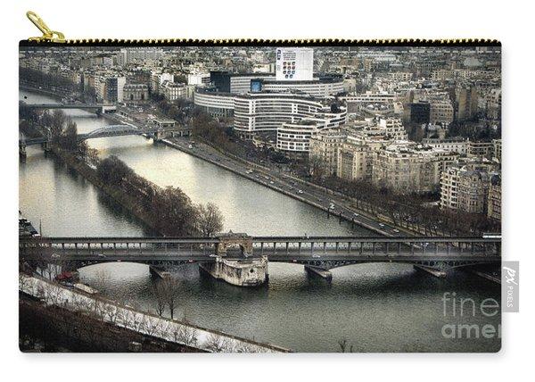 The River Seine - Paris Carry-all Pouch