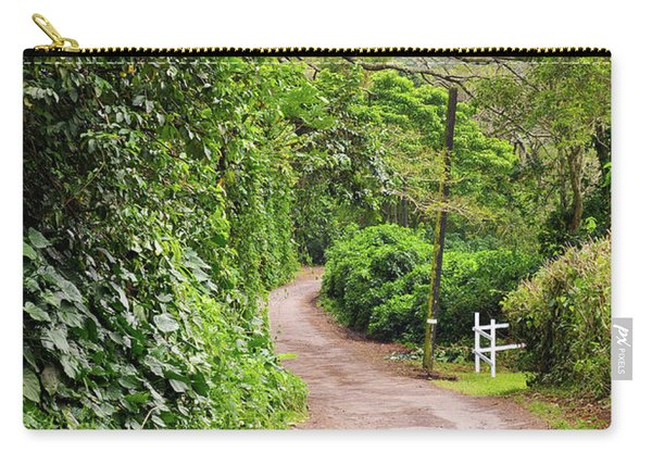 The Road Less Traveled-waipio Valley Hawaii Carry-all Pouch