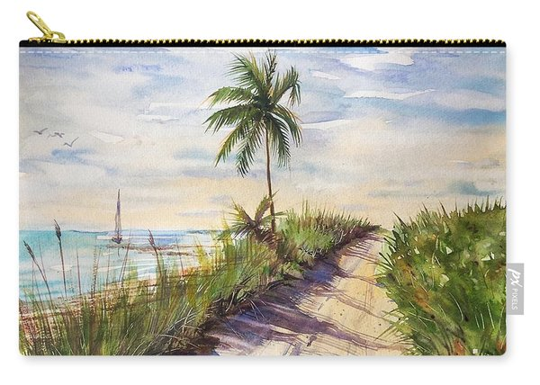 The Road To Happiness  Carry-all Pouch