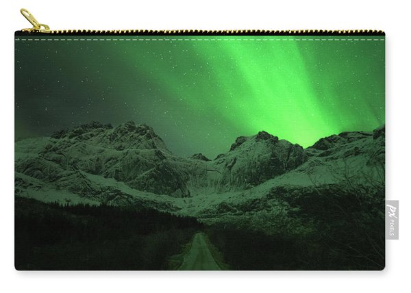The Road To Nusfjord Carry-all Pouch