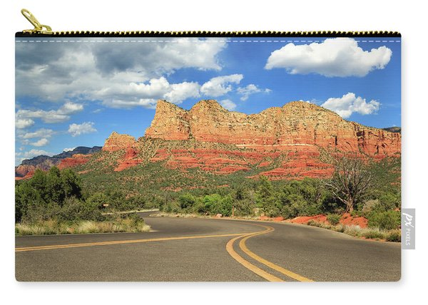 The Road To Sedona Carry-all Pouch