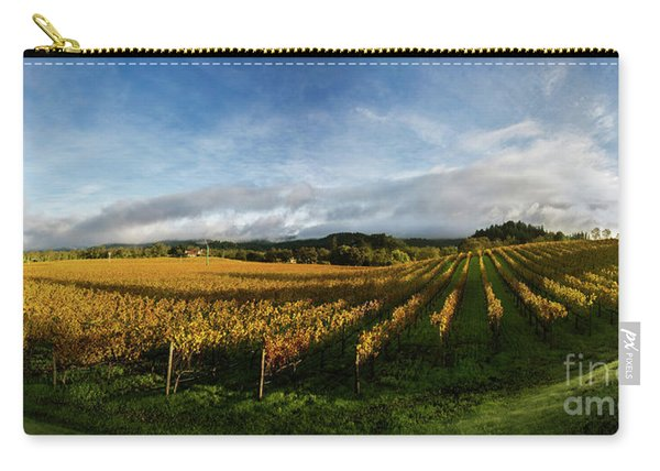 The Rolling Vineyards Of Napa  Carry-all Pouch