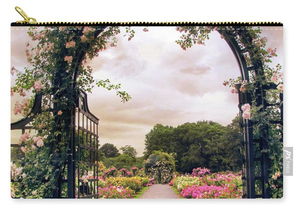 The Rose Allee Carry-all Pouch