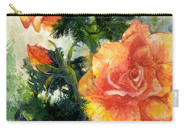 The Roses Carry-all Pouch