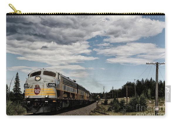 The Royal Canadian Pacific  Carry-all Pouch