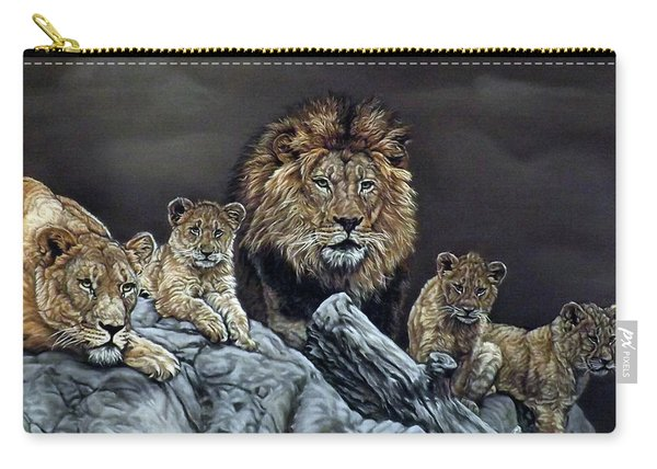 The Royal Family Carry-all Pouch