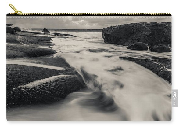 The Rush Of The North Sea Carry-all Pouch